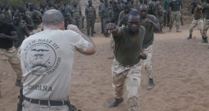 """Soldados del ejército español en Mali en labores de """"entrenamiento y asesoramiento"""""""