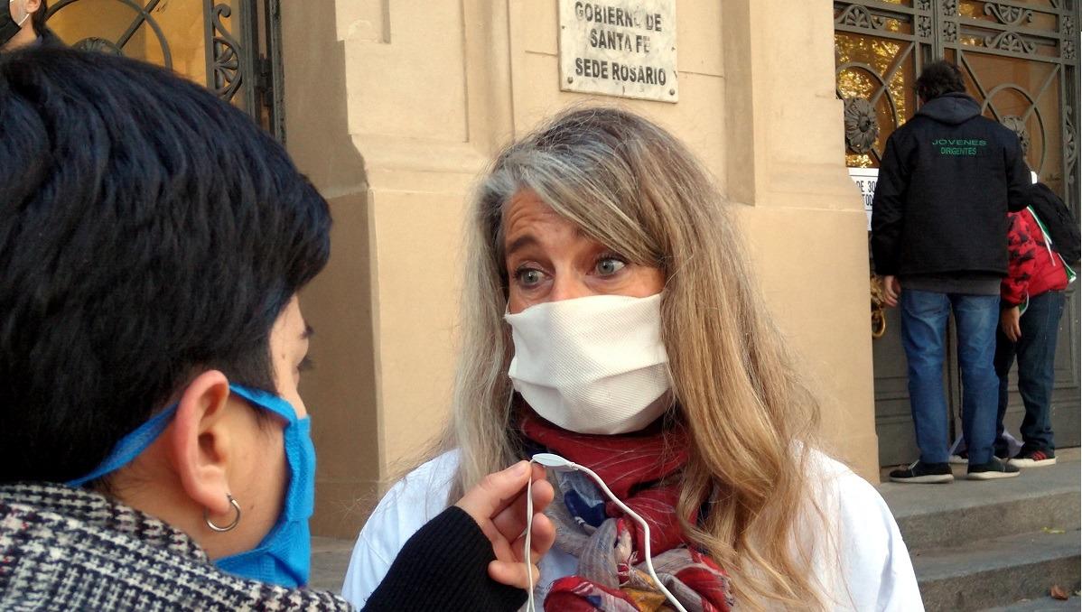 """""""De no modificarse la situación, vamos a tener que definir quién tiene acceso a una internación y a un respirador"""""""