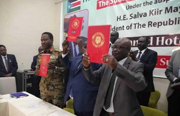 Sudán. Rivales sudaneses firmarán en octubre acuerdo de paz definitivo