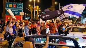 """Israel.  Bloquean aeropuerto para evitar la """"huida"""" de Netanyahu"""