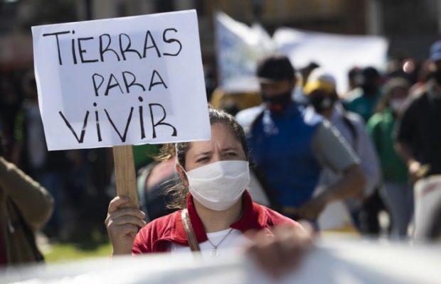 Argentina. Tierra para vivir, feminismos para habitar: No al desalojo en Guernica
