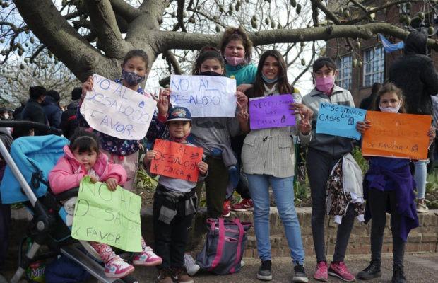 Argentina. Preparan abrazo solidario y amplia movilización para resistir desalojo en Guernica