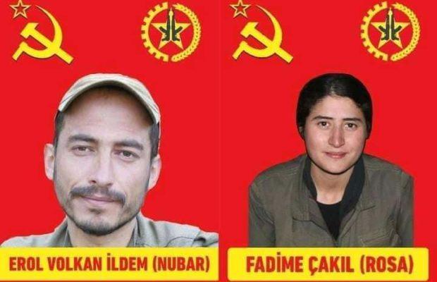 Turquía. La guerrilla maoísta turca TKP-ML anuncia el martirio de dos de sus combatientes