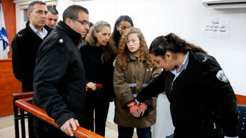 Mujeres palestinas denuncian abusos sexuales en cárceles israelíes