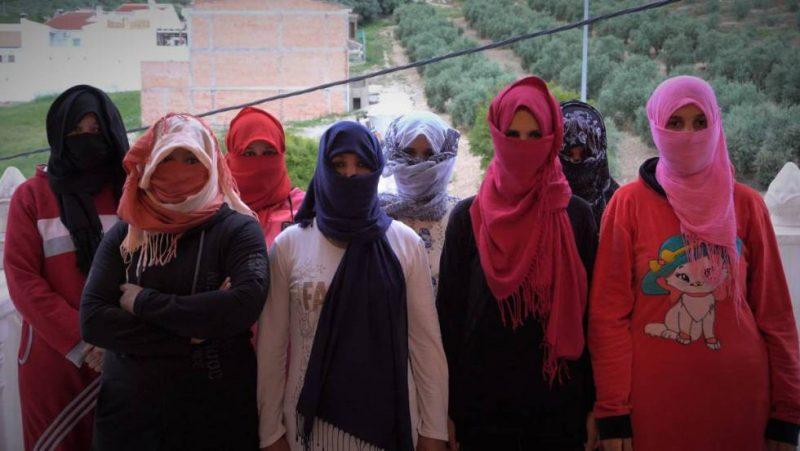 Temporeras marroquíes en la agricultura onubense