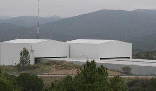 El centro de almacenamiento de residuos radioactivos de El Cabril.