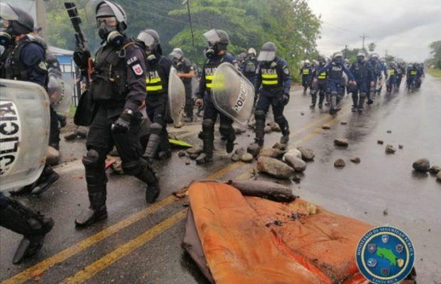 Costa Rica. Continúan las protestas y los bloqueos contra el FMI: heridos y gaseados