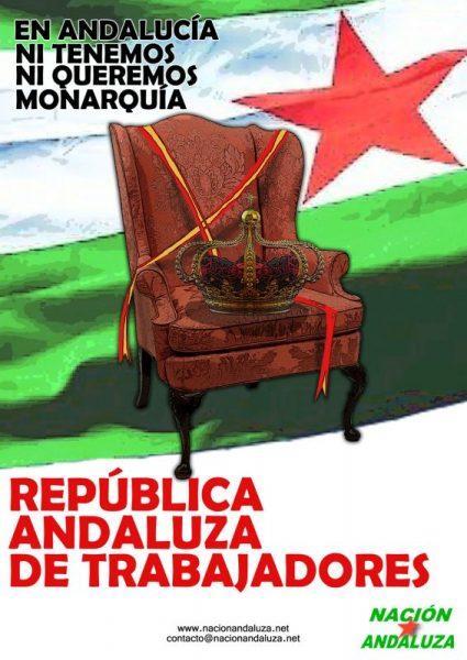 Nación Andaluza ante los actos convocados por la III República española