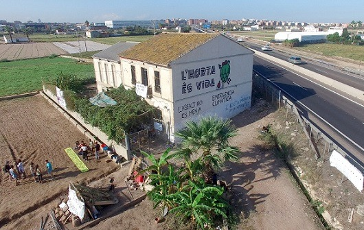 Estado español. El periodista David Segarra documenta las luchas en defensa de l'Horta de Valencia