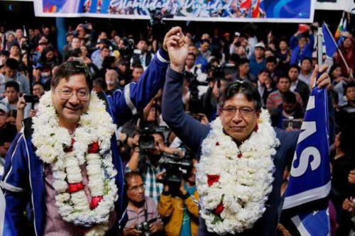 Bolivia: El MAS aplastó a la dictadura: Arce y Choquehuanca obtuvieron el 52,4% contra el 31,6% del derechista Mesa (vídeo)