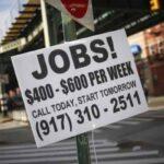 Estados Unidos. Mercado laboral en tensión pese a ligero repunte