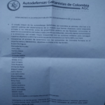 Colombia: Paramilitares amenazan de muerte a concejales electos de Colombia Humana: prometen el exterminio de la izquierda