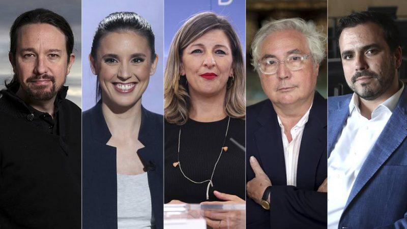 Ministras de Unidas Podemos