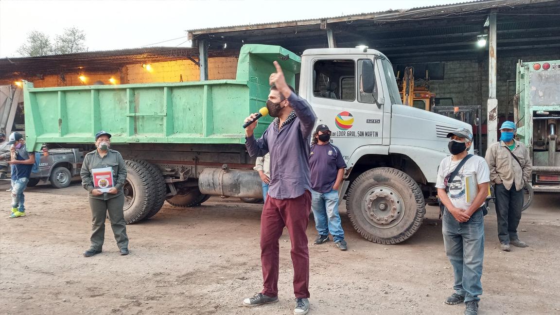 """Van a la huelga con cortes de ruta y denuncian que Morales tiene """"trabajo municipal esclavo"""""""