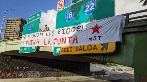 Puerto Rico. Movimiento Socialista de Trabajadoras y Trabajadores convoca manifestación contra la JCF