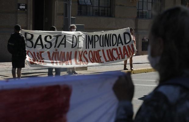 Chile. Vandalizaron el Memorial de los Detenidos Desaparecidos y Ejecutados Políticos de Valparaíso