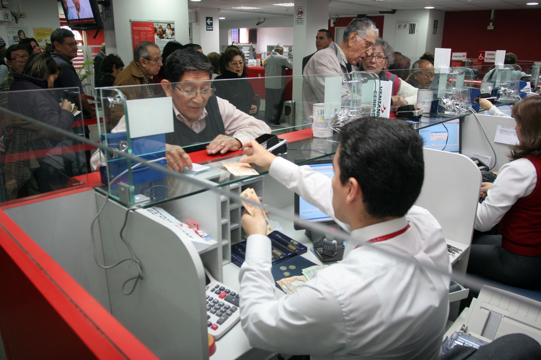 Economia Foto 1 - Pensionistas_Andina