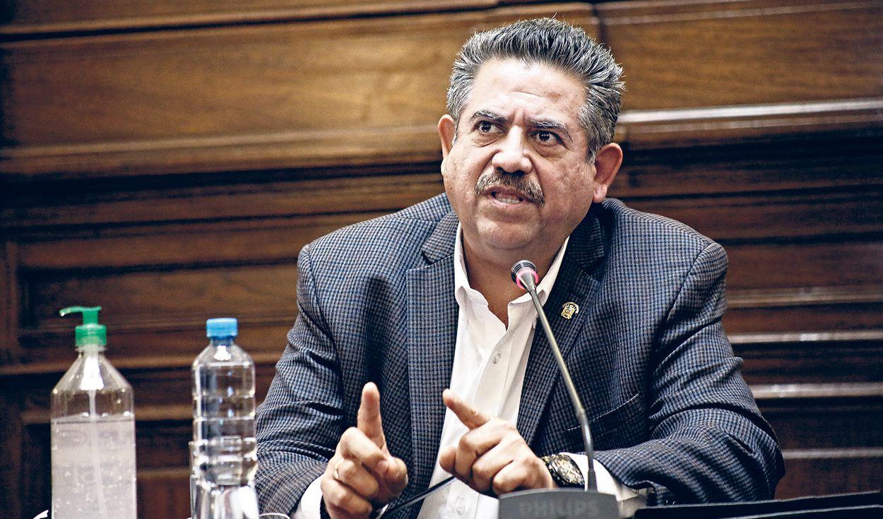 Manuel Merino en silencio. Pese a muertes y pedidos de su renuncia, el congresista de Acción Popular no se pronuncia. Foto: La República