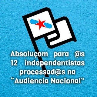 Nación Andaluza en solidaridad con las 12 galegas procesadas por la operación Jaro ¡Ser independentista no es delito!