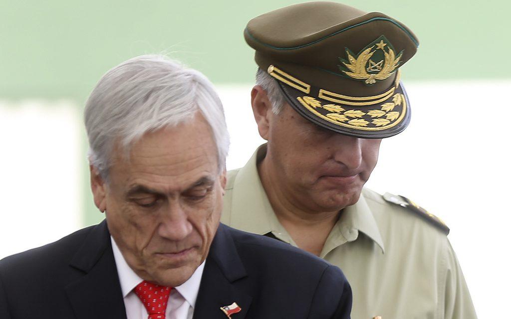 """Piñera confirma salida de Rozas en Carabineros y califica como """"niños accidentados"""" a menores baleados en Talcahuano"""
