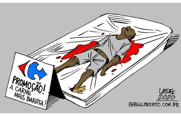 Brasil. El empleado de seguridad de Carrefour se arrodilló sobre la espalda de João Alberto durante 4 minutos hasta causarle la muerte
