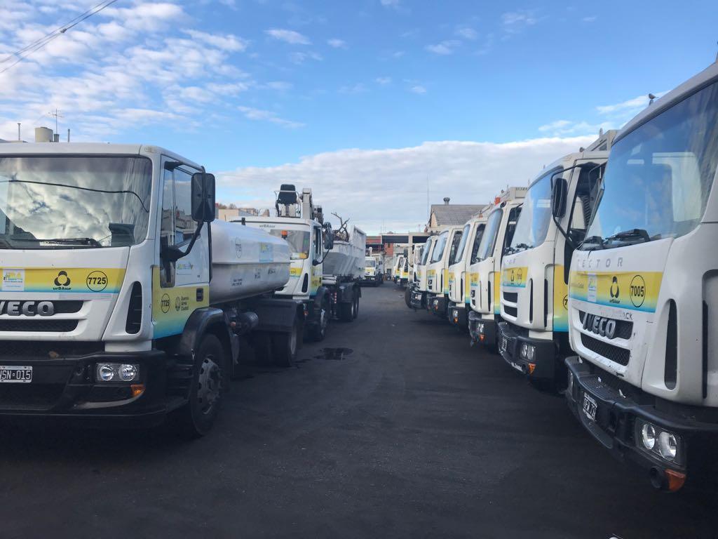 Camioneros en pie de guerra contra Larreta que busca reducir las jornadas a recolectores para recortar sueldos