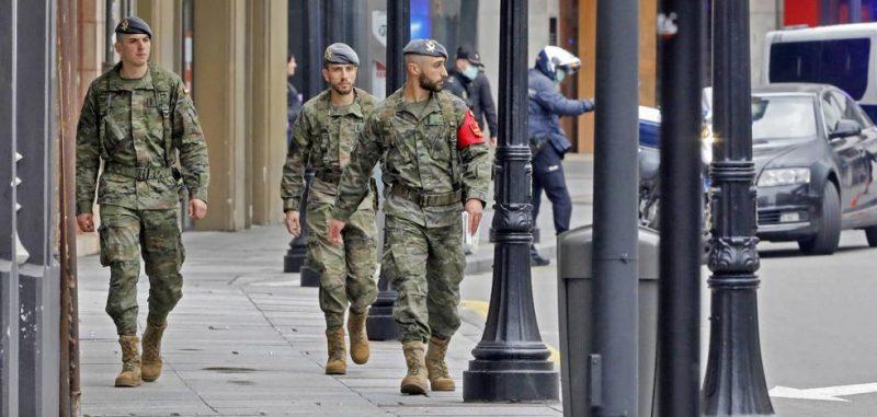 360 rastreadores militares están rastreando contactos en nombre del Servicio Andaluz de Salud