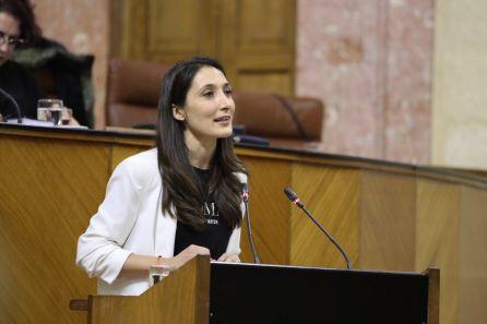 Mónica Moreno, del partido naranja, fue la encargada de defender la PNL