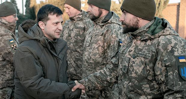 Ucrania. Agradecimiento especial por los crímenes cometidos