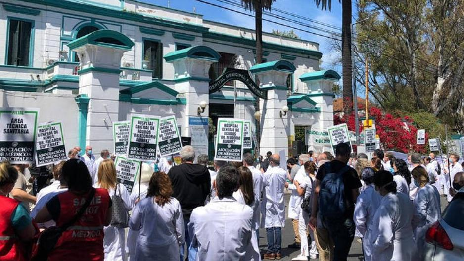 Médicos municipales