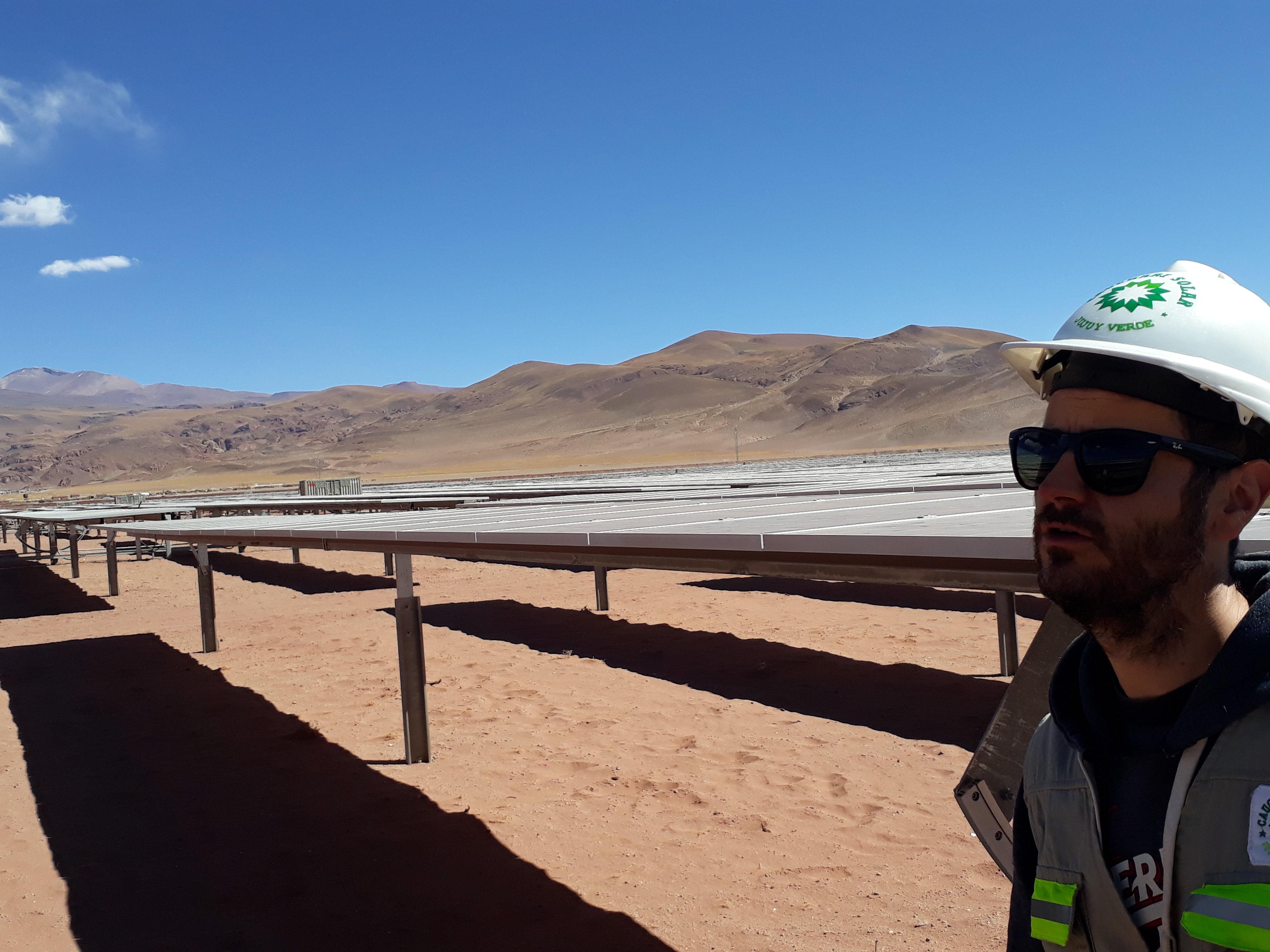 El sol de la Puna ya da electricidad a toda la Argentina