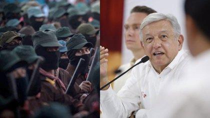 La más reciente disputa entre ambos líderes ha sido a raíz de la construcción del Tren Maya, una de las obras insignias del gobierno de Andrés Manuel López Obrador (Foto: CUARTOSCURO, LopezObrador.org.mx)