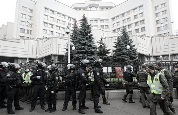 Ucrania. Bloqueo constitucional