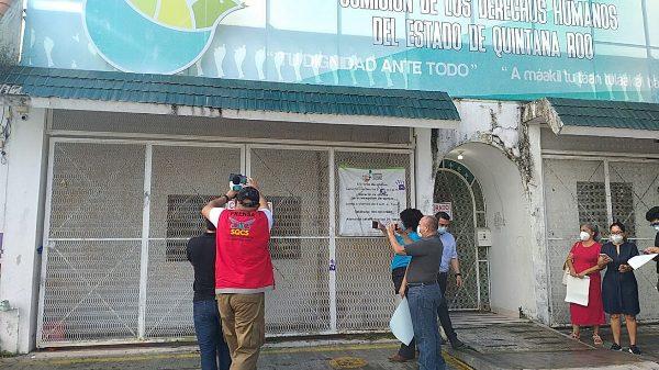 México. Clausuran instalaciones de la Comisión de DH en Quintana Roo por apoyar el derecho a decidir