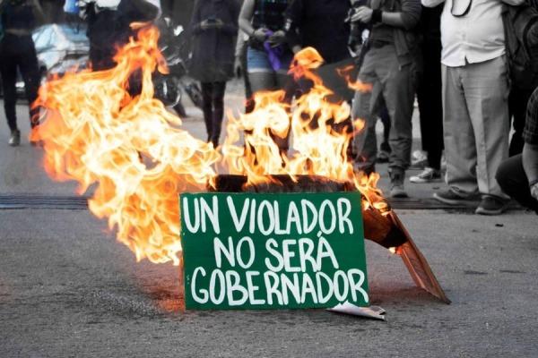 México. Defensora recibe amenazas tras protestas contra Félix Salgado Macedonio