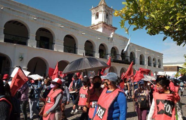 Argentina. Movilización contra los tarifazos en Salta