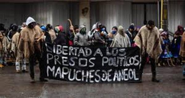 Nación Mapuche. Presos Políticos de Angol en huelga de hambre