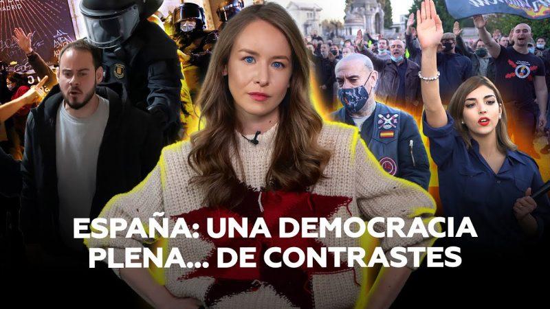 """¿""""Democracia plena""""? Cárcel para el rapero Pablo Hasél y permiso para marcha nazi (vídeo)"""