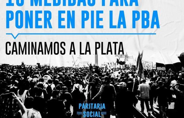 Argentina. Diez medidas para poner en pie la Paritaria Social y Popular, propone el Movimiento Popular La Dignidad
