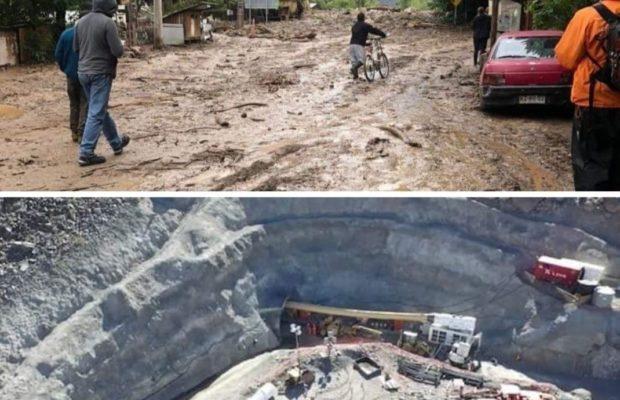 Chile. Hidroeléctrica arrasa pueblos y amenaza dejar sin agua a Santiago