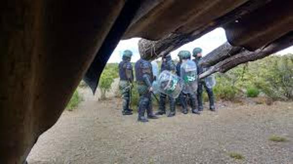 Nación Mapuche. Juicio contra  Policía Provincia  de Chubut