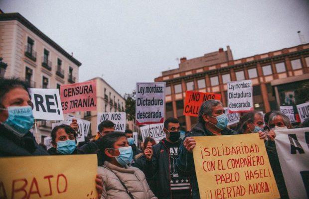 Paraguay. La prisionera política Cármen Villalba se solidariza con el rapero catalán Pablo Hasél