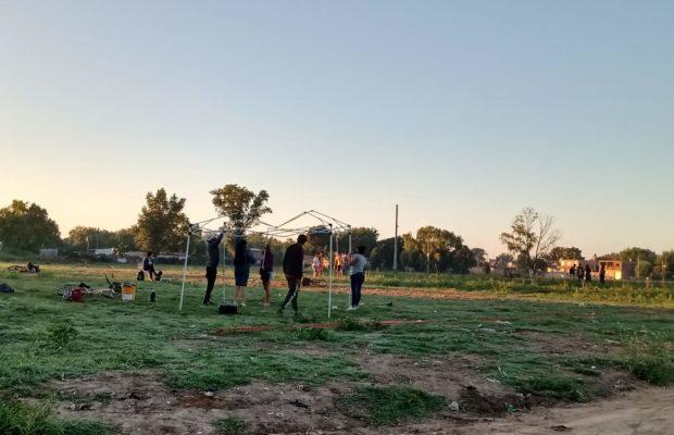 Vecinxs autoconvocadxs ocupan tierras en Ezeiza y la policía bonaerense los reprime violentamente: dos detenidos