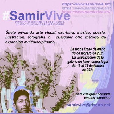 México. Honrar la vida y la lucha de Samir Flores