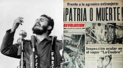 Cuba. Ante la memoria de nuestros abuelos y padres: ¡Patria o Muerte! ¡Venceremos!