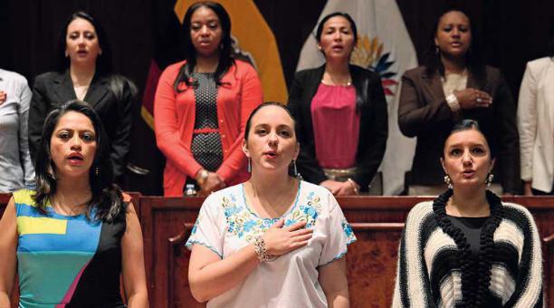 Ecuador. Informe sobre participación e igualdad refleja cuántas mujeres representarán a cada partido político en la Asamblea Nacional