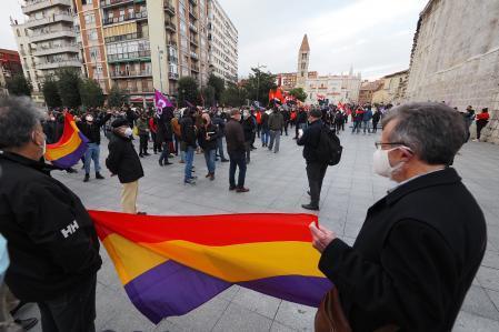 Concentración en Valladolid para pedir la liberación de Pablo Hasél