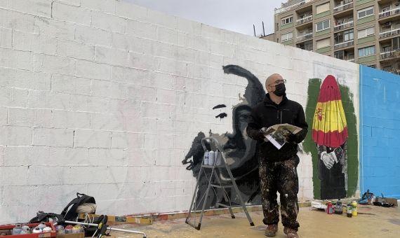 Rock Blackblock, contra Franco y la Justicia en el lugar...