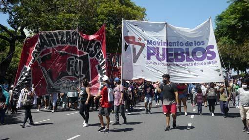 Argentina. Miles marcharon a Desarrollo Social contra el pacto social, el FMI y por reivindicaciones urgentes