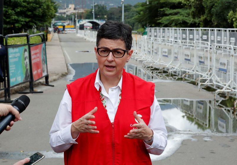 La ministra española Laya se posiciona con Colombia e ignora decenas de asesinatos de su narcogobierno